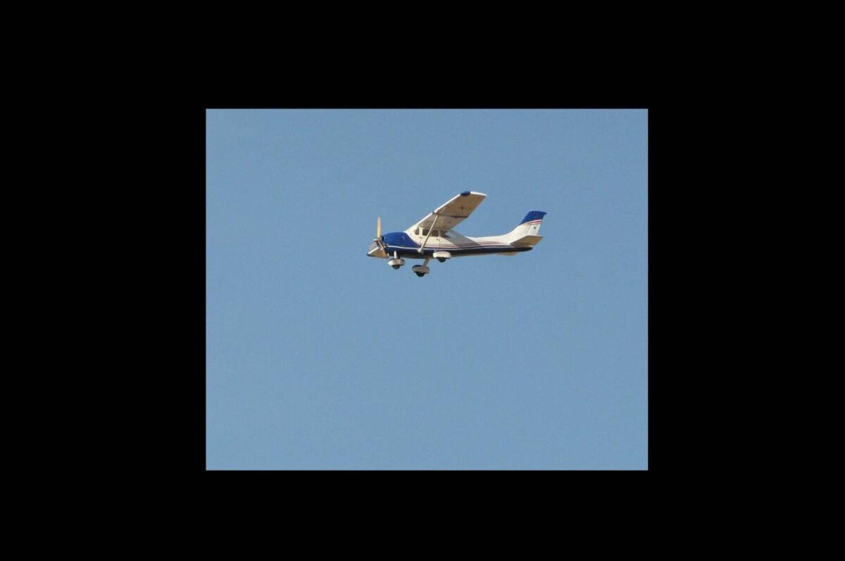 Cessna en vuelo