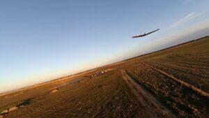 ZagiPW en vuelo